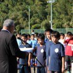 ボルテックスカップ少年サッカー大会表彰式