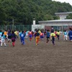 ザスパ選手によるサッカー教室